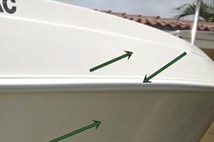 Boat Gelcoat Repair